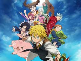 seven deadly sins is the anime you didn