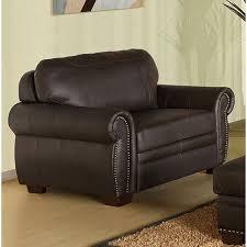 italian leather oversized chair