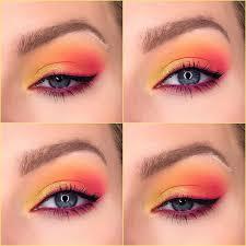 sunset eye makeup tutorial saubhaya