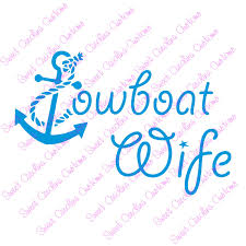 Towboat Wife Car Decal Car Decals Boat Tug Boats