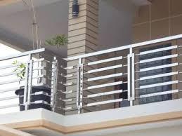 balcony railing stainless steel