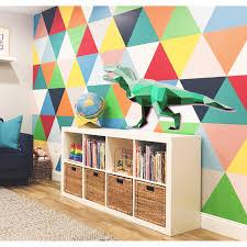 Shop Green Dinosaur Polygonal Wall Decal Dinosaur For Nursery Kids Room Overstock 31864171