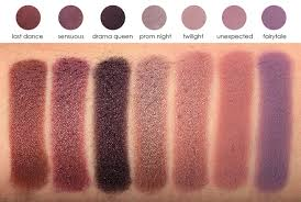 eyeshadow brands swatches and
