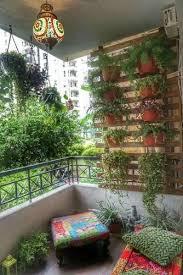 balcony and terrace garden design in
