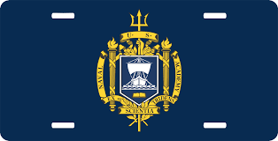Us Naval Academy License Plate