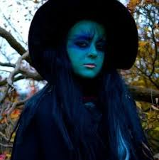 witch face paint and makeup ideas for