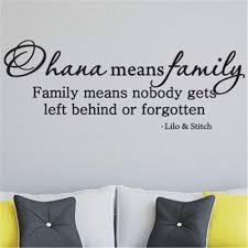 Amazon Com Yttbuy Ohana Means Family Decal Ohana Means Family Wall Decal Ohana Means Family Decal For Wall Ohana Means Family Sticker Ohana Means Family Decor Ohana Decor Kitchen Dining