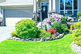 garden design ideas for front of house