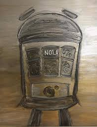 Nola Painting by Abigail Perry