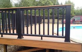 Pool Wrought Iron Deck Railing Panels Types Privacy Fence Brick And Fences Home Elements Style Doors Exterior Pricing Porch Posts Art Gates For Decks Planters Crismatec Com