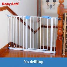 Solid Stair Guardrail Baby Child Safe Gate Pet Isolating Dog Fence Fence Child Safe Iron Baby Safety Fence Baby Stairs Petgazue For Pets Child Safety Gates Safety Fence Baby Safety