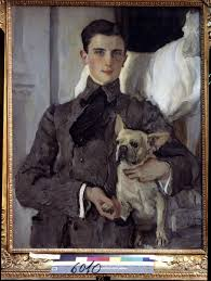 Portrait of Prince Felix Yusupov, Count - Valentin Alexandrowitsch Serow as  art print or hand painted oil.