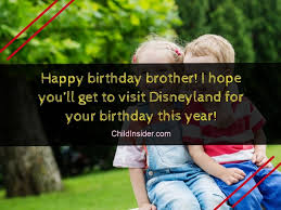 funny birthday wishes for younger brother from sister child