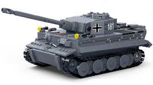 Gudi 6104 (NOT Lego Military Army German King Tiger I Tank ) Xếp ...
