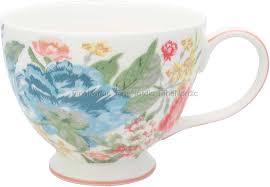 GreenGate Teacup Adele White