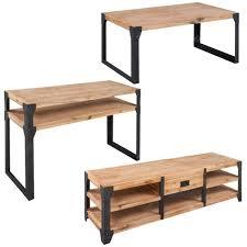 coffee table tv cabinet three 3 piece