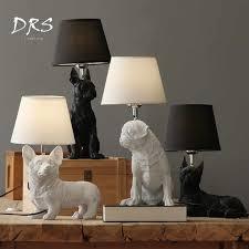 Designer Desk Lamp Nordic Danish Retro Bedroom Bedside Table Lamp Creative Study Decoracao Para Casa Lights Kids Room Dog Lamp Aliexpress