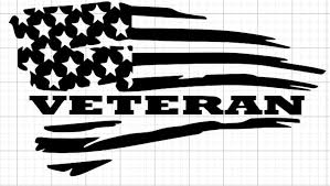 Veteran Flag Sticker Decal Sitka Gear Bravo Company Usa 5 11 Tactical Kuiu Xo Cricut Vinyl Silhouette Cameo Projects Silhouette Projects