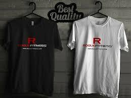 rogue fitness dark grey t shirt stars
