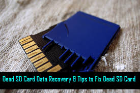 data recovery tips to fix dead sd card