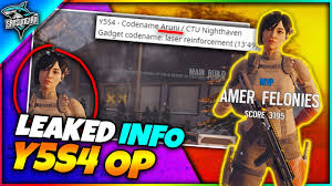 Y5S4 Leaked THAILAND Operator Aruni & CHALET Rework (Y5S3 + S4 Info) -  YouTube