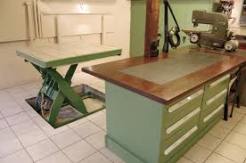 motorcycle work table plans