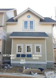 picking an exterior paint color young