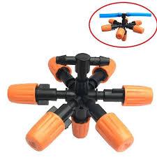 Vòi phun sương 7 cửa loại 1 dùng ống phun sương PU 8mm - BT0574
