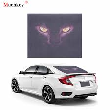 Car Sticker 3d Transparent Car Back Rear Window Decal Vinyl Sticker Horror Monsters Zombie Car Styling 1pc For All Cars Car Stickers Aliexpress