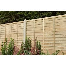 Wickes Pressure Treated Overlap Fence Panel 6 X 6ft Wickes Co Uk