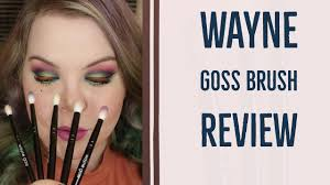 new wayne goss eye brush set review