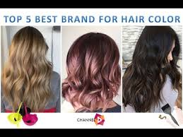 top 5 best hair color brands you