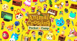 animal crossing pocket camp list of