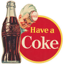 Coca Cola Have A Coke Disc Sprite Boy Wall Decal At Retro Planet