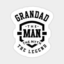 man the myth the legend grandpa gift