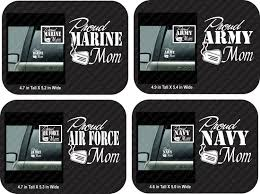 Proud Army Mom Car Decal Proud Air Force Mom Car Decal Proud Etsy Air Force Mom Mom Car Army Mom