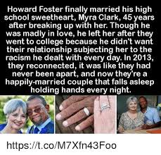 Howard Foster Finally Married His High School Sweetheart Myra ...