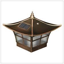 Solar Deck Post Cap Lights 4x4 Copper Ambience Wood Vinyl Posts Solar Post Caps Outdoor Post Lights Post Cap