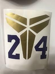 Kobe Bryant Logo Vinyl Decal Sticker Ebay