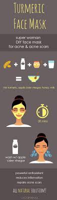 superwomen turmeric face mask recipe
