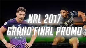 NRL 2017 - Grand Final Promo - YouTube