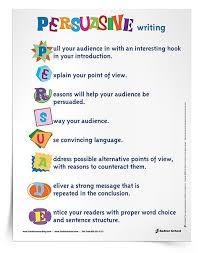 teaching persuasive writing in the