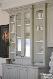 china cabinet makeover design dazzle