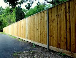 Morticed Posts New Forest Fencing