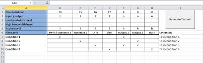 truth table engine for arduino nico