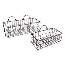 metal wall baskets com