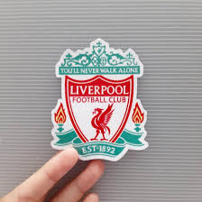 Liverpool Fc Logo Vinyl Sticker Motorcycles Motorcycle Accessories On Carousell