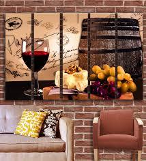 Rich Unique And Bold Wine Wall Art Decor Home Wall Art Decor