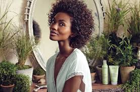 styling for curly natural hair aveda
