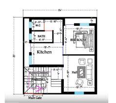 25 x 24 feet small house plans decorchamp